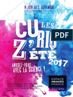 Curioz'Été Espace Mendès France-Poitiers 2017