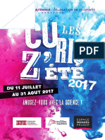 Curioz'Été Espace Mendès France-Charente 2017