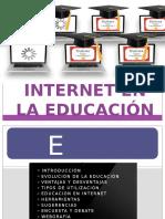 Internet en La Educación