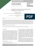 Taroun towards better modeling const risk lit review.pdf