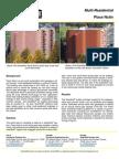 SolarWall Case Study - Place Nolin (Multi Residential) solar air heating system