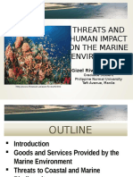 Threats and Human Impact on the Marine Environment