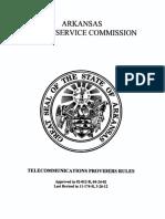 Telecommunications Provider Rules
