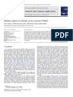 Mobility Analysis in Vehicular Ad Hoc Network VANET 2013 Journal of Network and Computer Applications