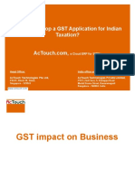 How to Develop a GST Application for Indian Taxation?