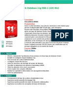 Alphorm Fiche Formation Oracle Database 11g DBA 1 (1Z0 052)