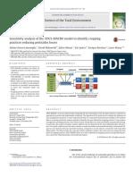 Sensitivity analysis of the STICS-MACRO model to identify cropping practices reducing pesticides losses - Sabine-Karen Lammoglia, David Makowski, Julien Moeys, Eric Justes, Enrique Barriuso, Laure Mamy
