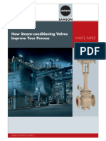 Whitepaper - Steam Conditioning Valves