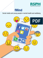 Status of Mind - Social media and young people's mental health and wellbeing