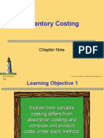 Ch 9 Inventory Costing
