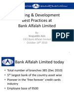 Bank Alfalah Learning&Development