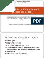 Características Do Comportamento de Fases Em Sólidos