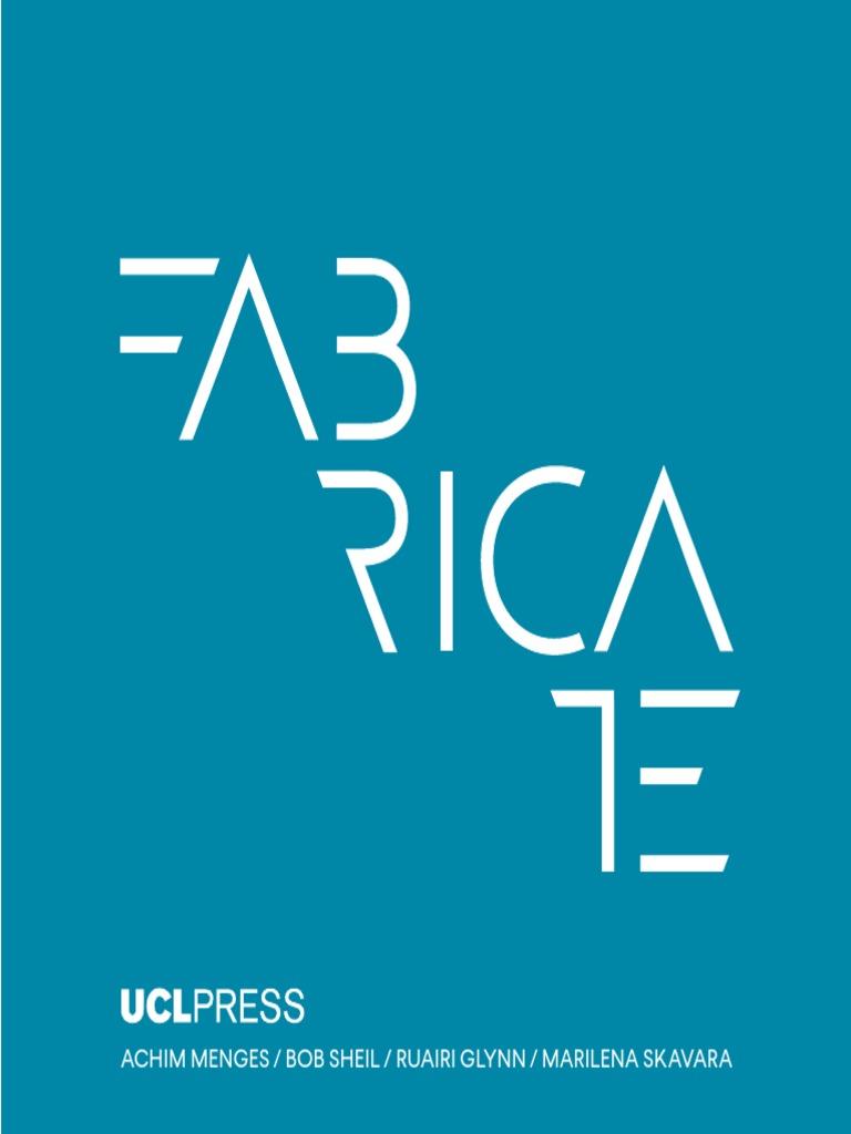 Fabricate   Design   Architect