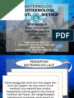 Bioteknologi Kelautan Kel.6