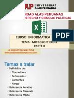 13. Sesion Excel 2007 Parte Ii_2017-1b Derecho