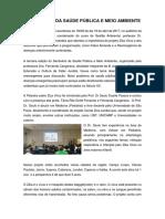 III Seminário da Saúde Pública e Meio Ambiente