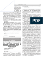 Modifican Reglamento del Proceso de Programación Participación y concertación para la formulación y aprobación del Presupuesto Participativo Basado en Resultados de la provincia de Huaura