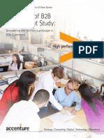 Accenture B2B Procurement Study 2014
