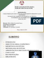 Slide Monografia SANGRAMENTO DIGESTIVO ALTO