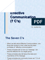 7 Cs of Communication