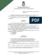 Código de Obras de Santa Rosa (RS)