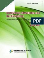 Kecamatan Samarinda Ulu Dalam Angka 2016