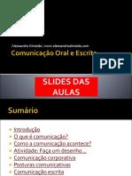 Slides Comunicaooraleescrita 160109171526