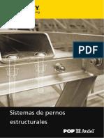 POPAvdel Sistemas de Pernos Estructurales ES 1