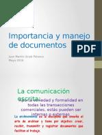 Importancia y manejo de documentos.pptx