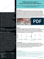 HDR plesiotherapy in facial and thoracic skin lesions