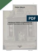 Adequação retórico-arquitetônica da Paróquia de Nossa Senhora do Pilar de Ouro Preto Ouro Preto