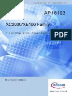 Ap1610313 XC2000 XE166 Family Pin Power Reset