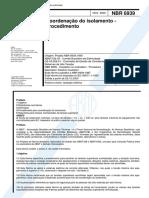 NBR 6939-Coordenação_Isolamento Desbloqueado