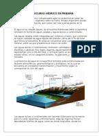 El Recurso Hídrico en Panamá