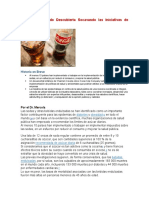 Dr Mercola - Coca Cola Ha Sido Descubierta