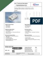 Infineon FB30R06W1E3 DS v02 01 en De