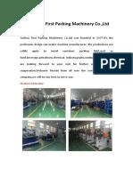 Suzhou First Packing Co.,Ltd Catolog -Linda