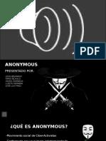 Anonymous Presentacion