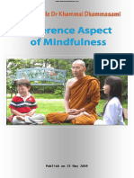 807. OxfordSayadaw Dr. K. Dhammasami - Different Aspects of Mindfulness