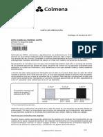 Carta Adecuación Dora Moreno