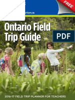 Classroom Connection Field Trip Guide 2016 Final