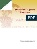 Introducción a La Gestión de Procesos