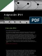 Asignación IPV4
