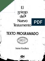 FOULKES, I. - El Griego del Nuevo Testamento. Texto Programado - Caribe, 1973.pdf
