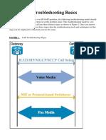 Fax Troubleshooting Basics