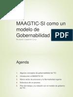 MAAGTIC-SI Modelo de Gobernabilidad de TIC