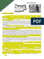 Ubú Rey y La 'Patafísica-Delueze-presenta a Alfred Jarry Precursor Del Proyecto Heideggeriano-Superación de La Metafísica
