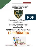 Módulo Inglés Anual 1ro Primaria
