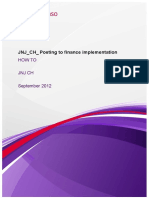HOW to-JNJ_CH_Posting to Finance Implementation