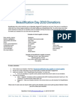 BDAY 2010 Donations